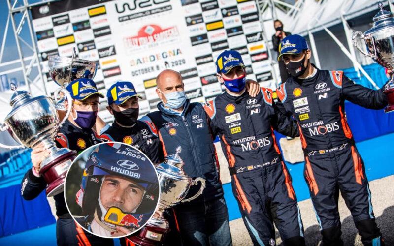 vincitore del Rally Italia-Sardegna