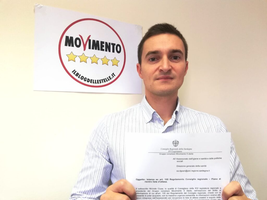 Michele Ciusa M5S