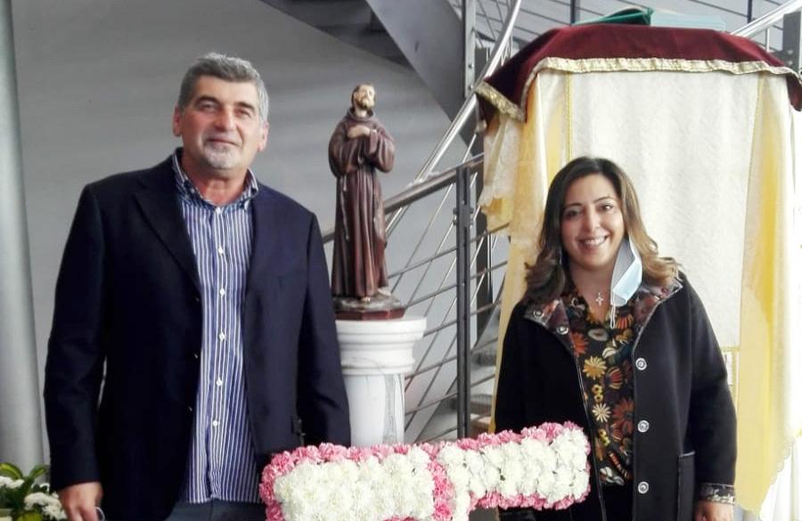 Alessandra Cossu e Luca Luberto sulle orme di San Francesco