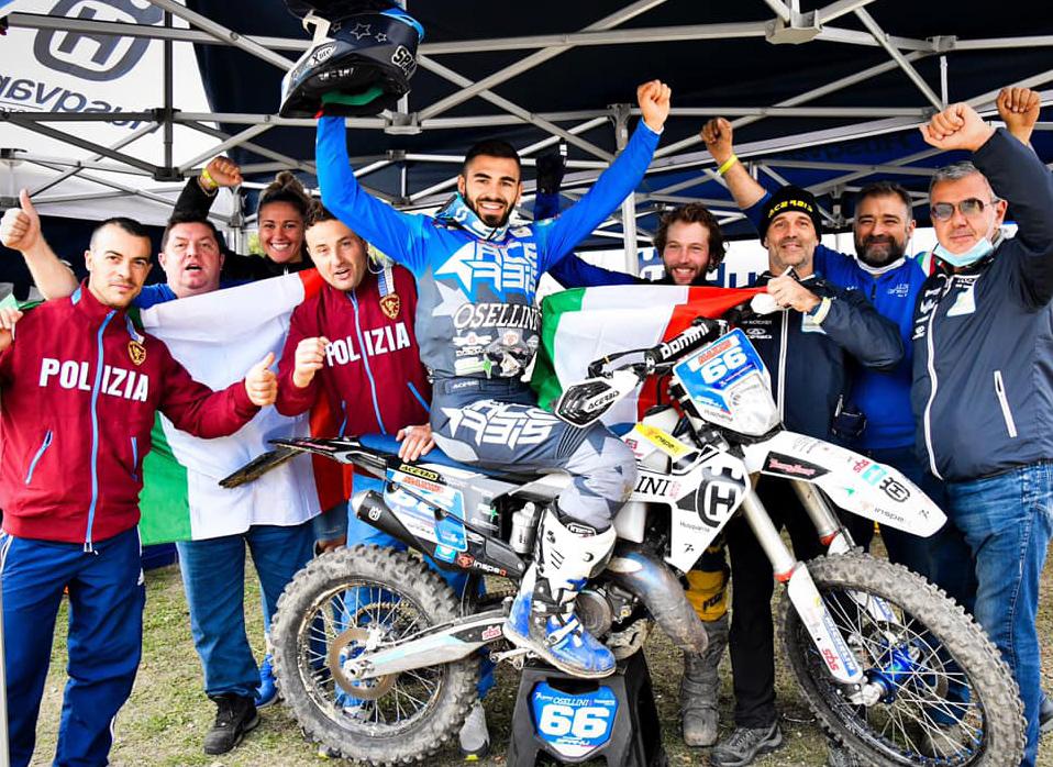 Claudio Spanu campione Italiano Enduro