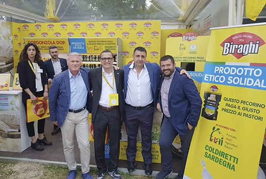+ 20% di vendita per il Pecorino etico solidale. Sorto nel 2017 da un accordo di filiera Biraghi-Coldiretti Sardegna.