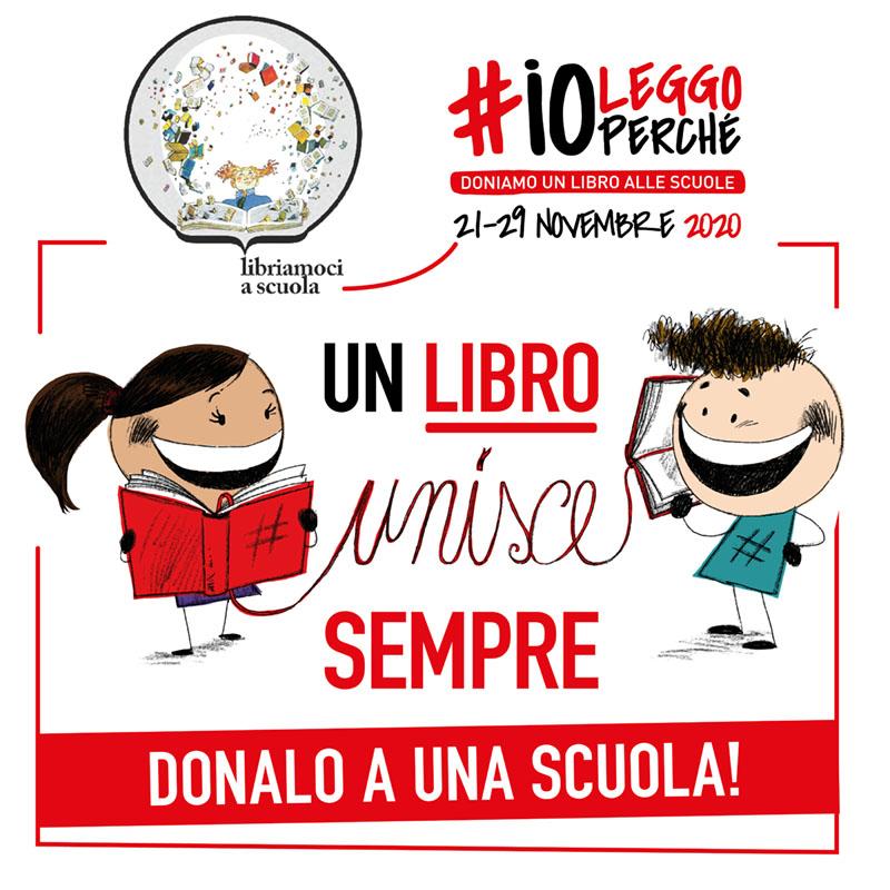 #Io leggo perché: dona un libro all'Istituto Segni di Ozieri