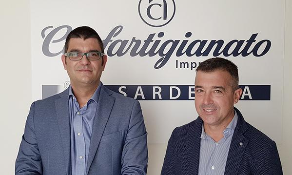 Antonio Matzutzi e Daniele Serra, Presidente e Segretario di Confartigianato Imprese Sardegna