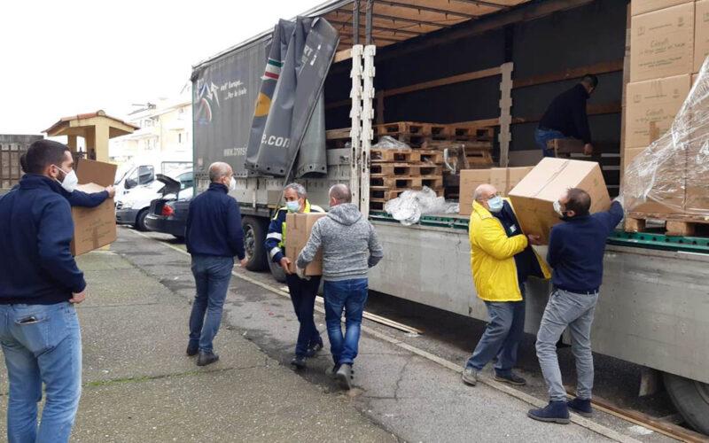 Coldiretti Sardegna pacchi della Solidarietà