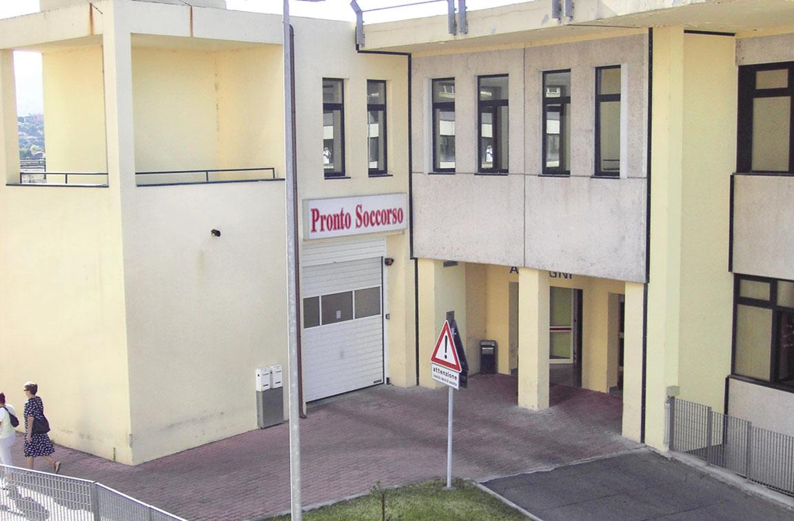 Pronto soccorso dell'Ospedale di Ozieri