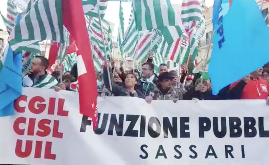 Amministrazione pubbliche sciopero