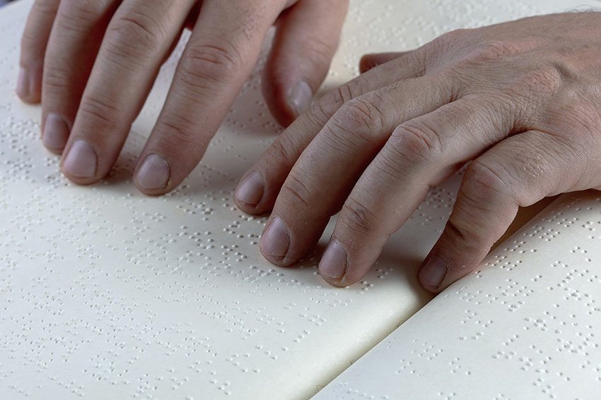 Scrittura braille