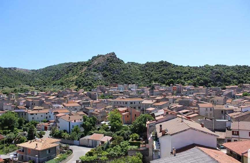Panorama di Benetutti