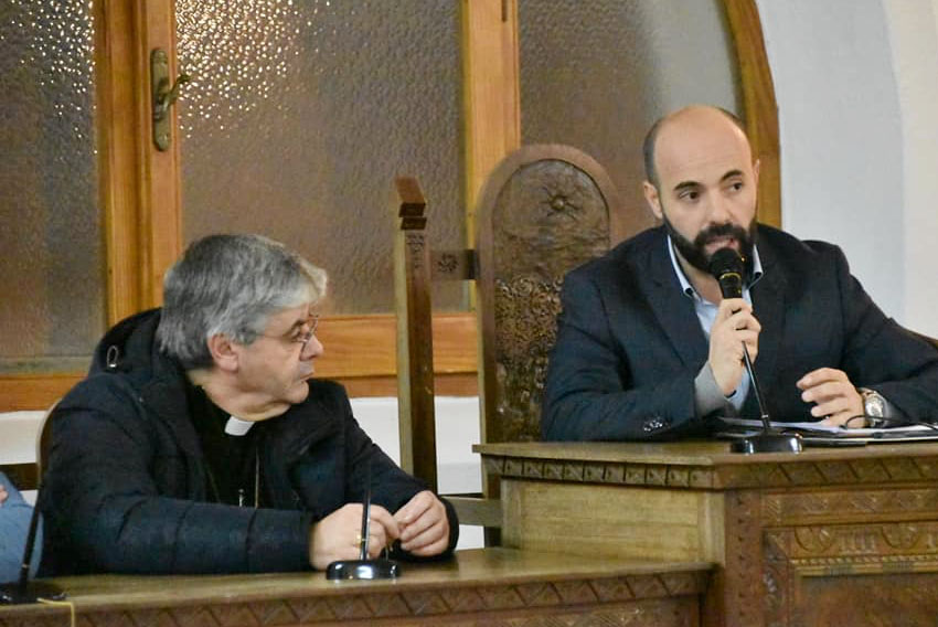 Il sindaco di Nughedu S.N. MicheleCarboni