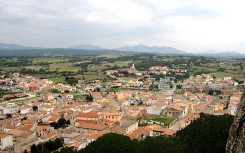 Monti panorama dell'abitato