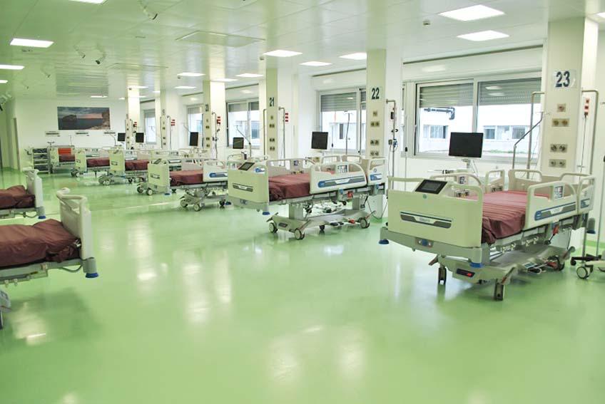 Aou di Sassari: inaugurata la nuova terapia intensiva Covid da 30 posti