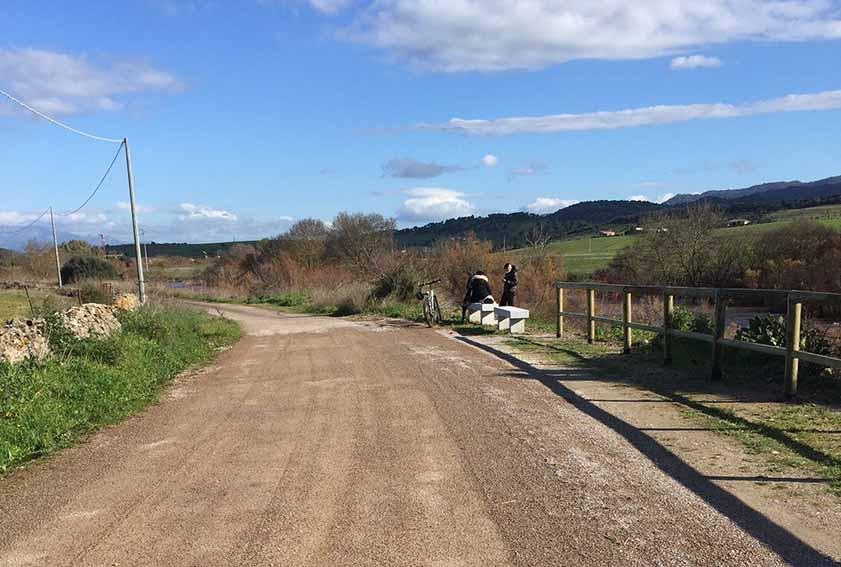 Riqualificata una strada rurale vicina all'oasi faunistica di Pont'Ezzu