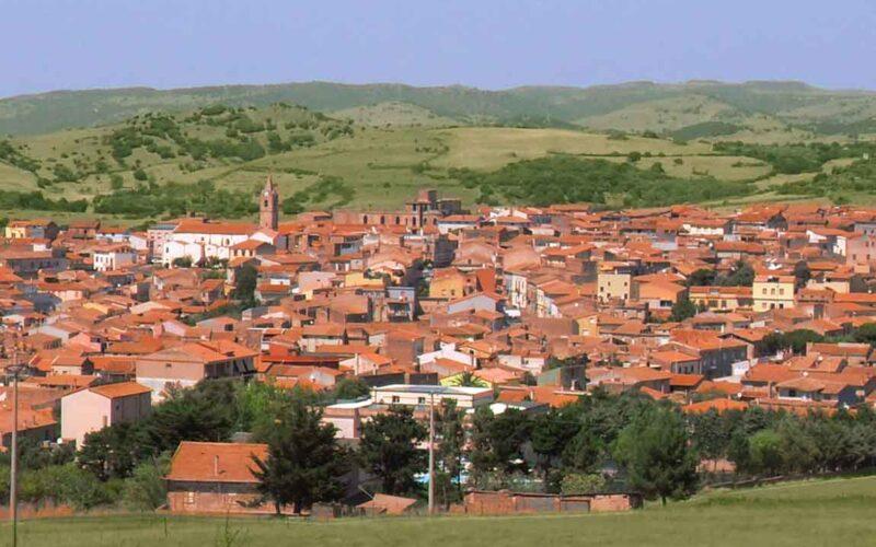 Panorama di Pozzomaggiore