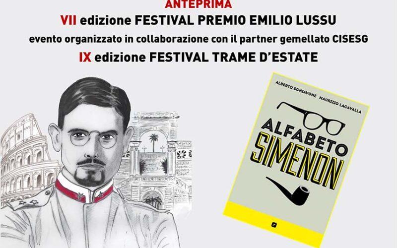 """""""Alfabeto Simenon"""" di Alberto Schiavone - Festival Premio Emilio Lussu 2021"""