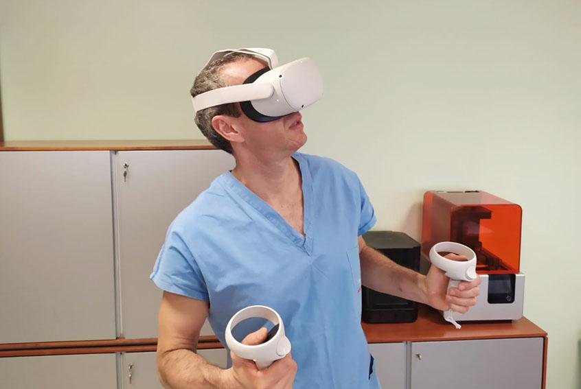 Cardiochirurgia pediatrica di Padova: la realtà virtuale nelle cardiopatie congenite