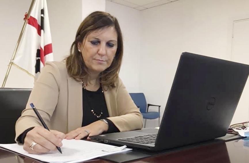 Alessandra Zedda - assessore Lavoro