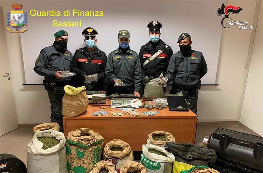 Traffico di droga tra Sassari e Bono