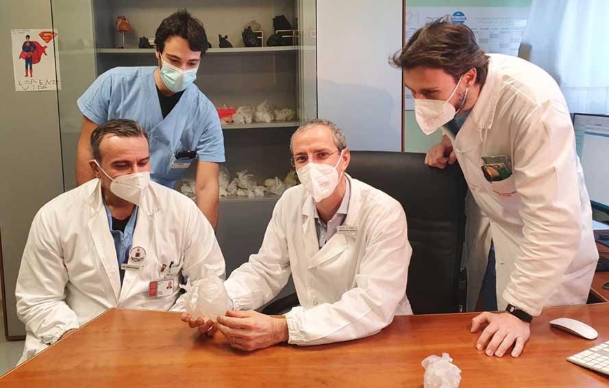 Cardiochirurgia pediatrica di Padova - Equipe che si occupa di realtà virtuale
