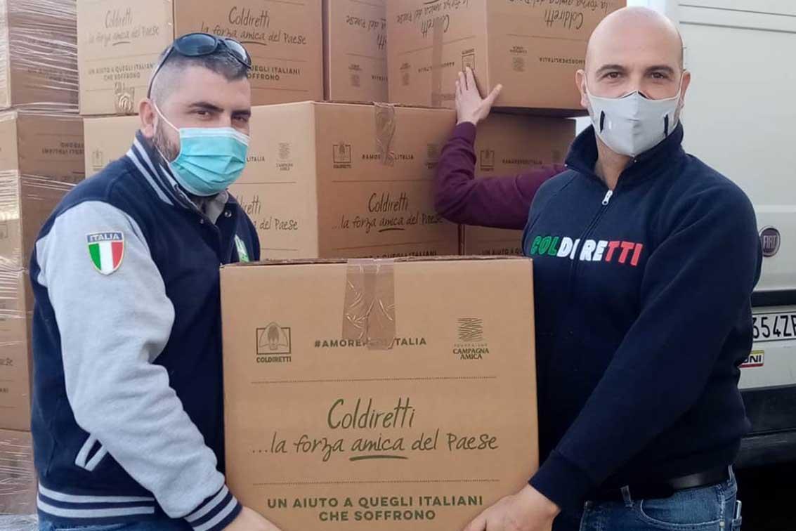 Cibo per i poveri - Coldiretti Sardegna
