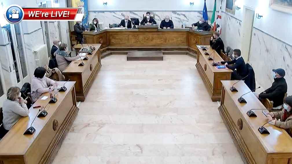 seduta del Consiglio comunale Ozieri