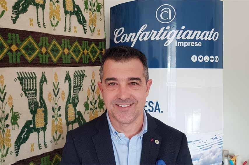 Antonio Matzutzi, Presidente di Confartigianato Imprese Sardegna.