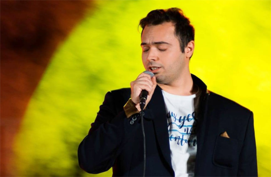 Musicista ozierese Federico d'Elia