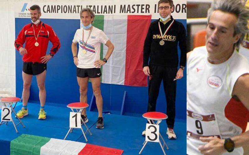L'ozierese Willy Maiolo campione italiano dei 1500 m SM45