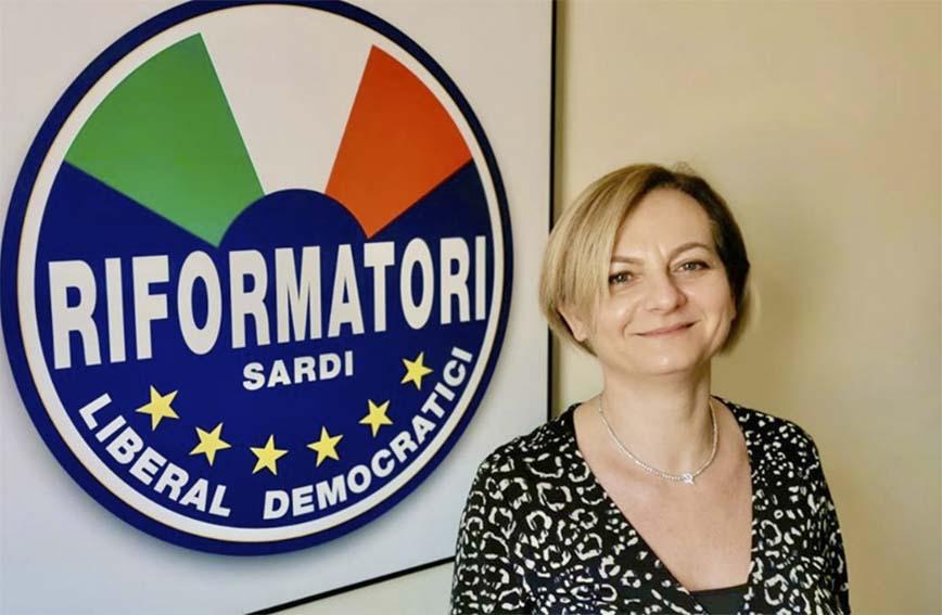 Mara Lai presidente del partito dei Riformatori Sardi