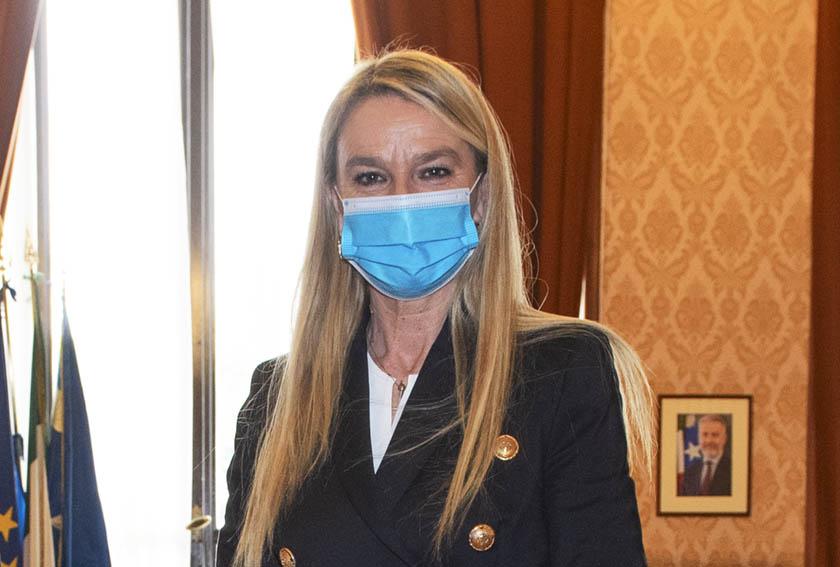 Sottosegretario alla Difesa Stefania Pucciarelli