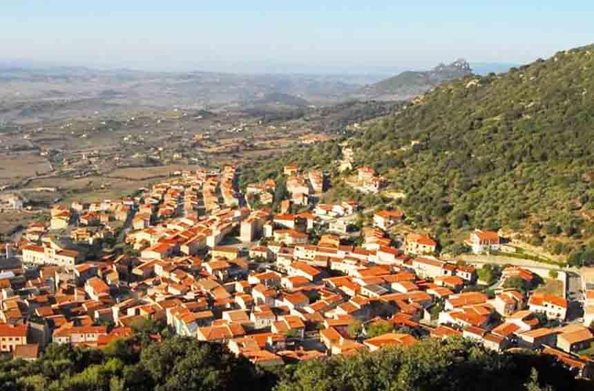 Panorama di Berchidda