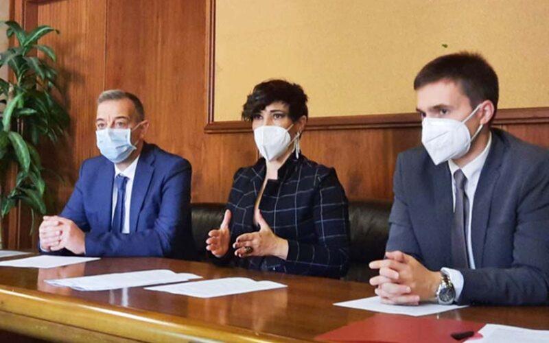 Presentazione proposta legge per Stomizzati, Conferenza stampa Desirè Manca