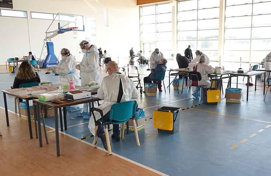 campagna di screening 'Sardi e sicuri' Distretto di Sassari