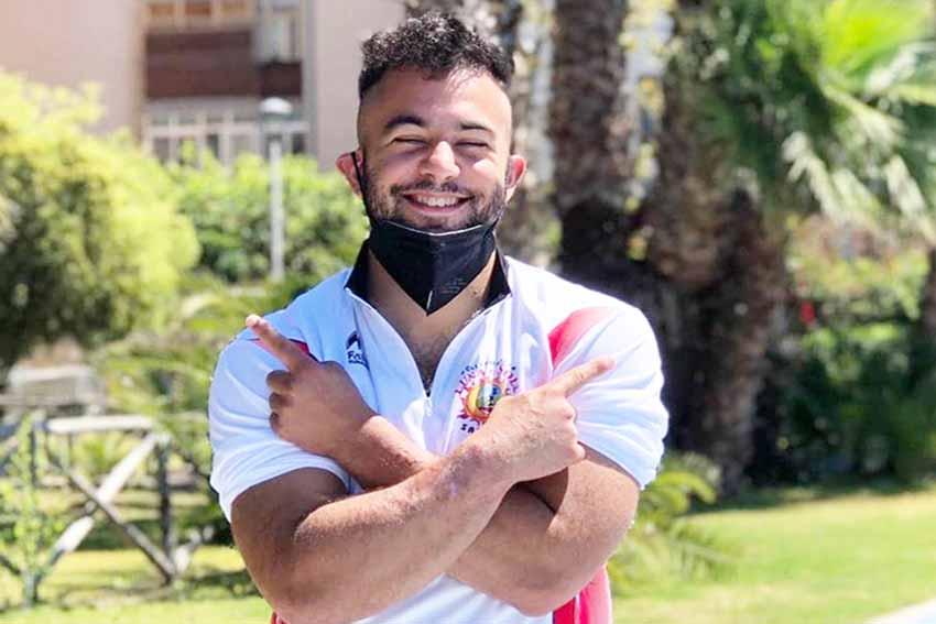 Il 25enne atleta ozierese Gianmatteo Punzurudu