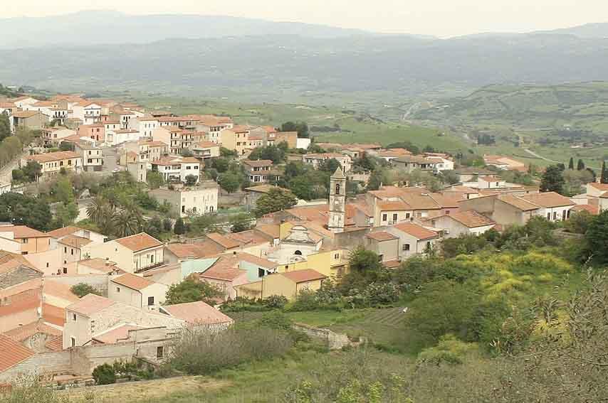 Panorama di Laerru