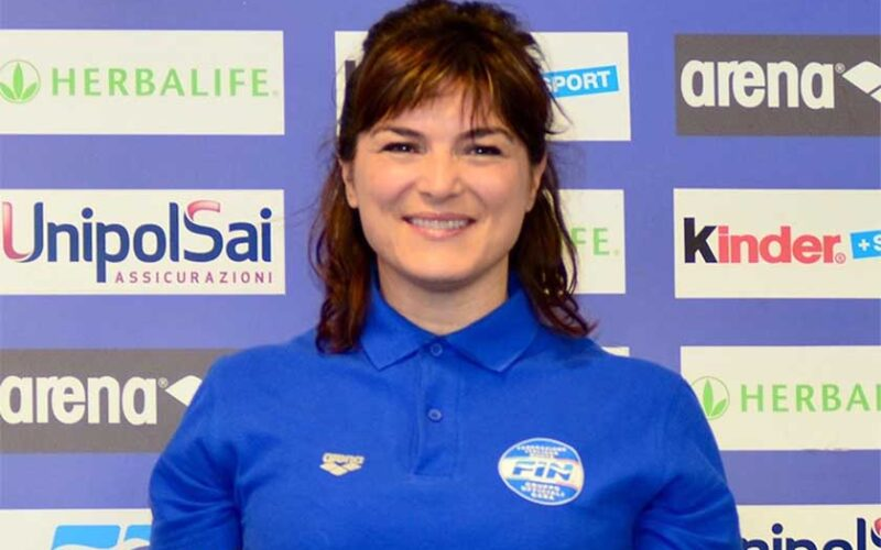 Silvia Atzori giudice di nuoto alle Olimpiadi di Tokyo