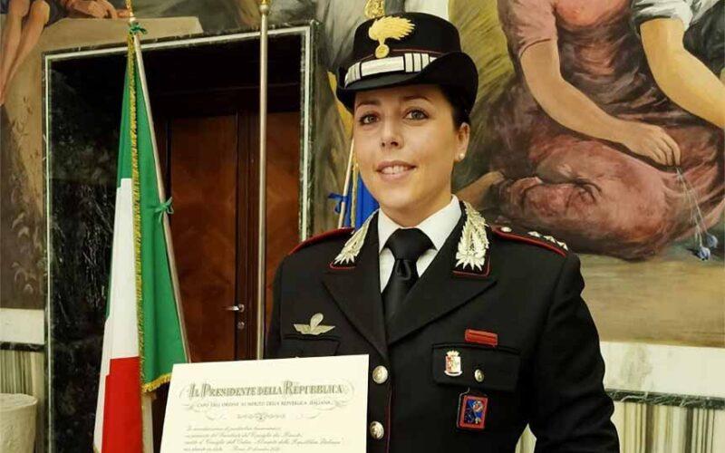 Capitano dei Carabinieri Tamara Nicolai