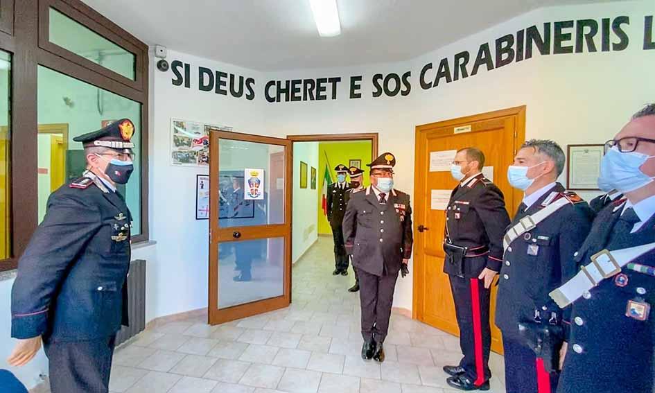 generale Carmelo Burgio a Nuoro