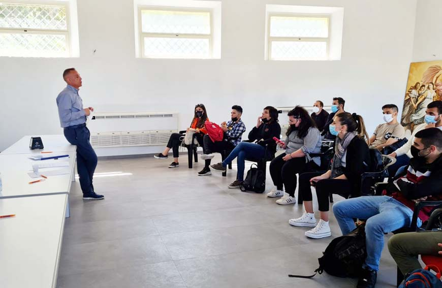 Visita Cantina del Vermentino studenti dell'ITS TAGSS di Sassari