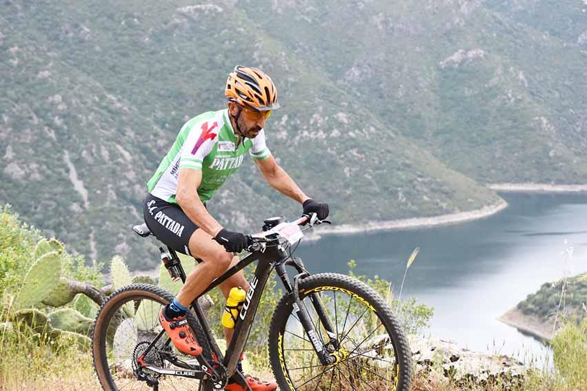Bruno Farina, campione regionale M7 nella specialità Cross Country
