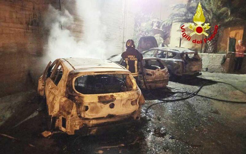 Incendio a Castelsardo