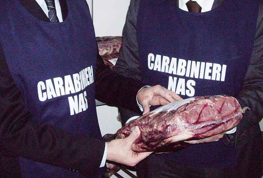 Nas chiudono ristorante cinese a Cagliari