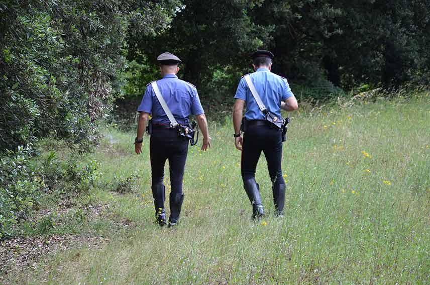 Intervento dei Carabinieri a Villasor