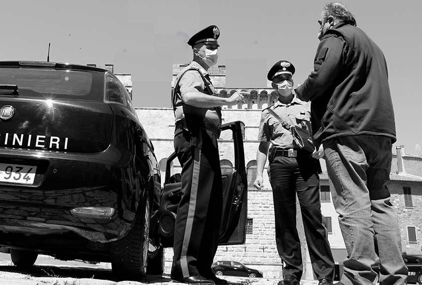 Carabinieri fermano uomo a Donori