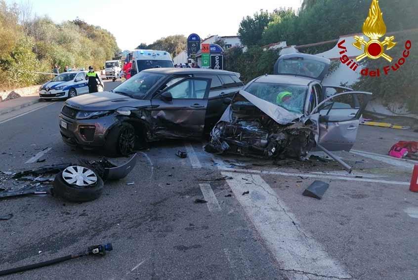 Incidente a Cala Bitta direzione Baja Sardinia