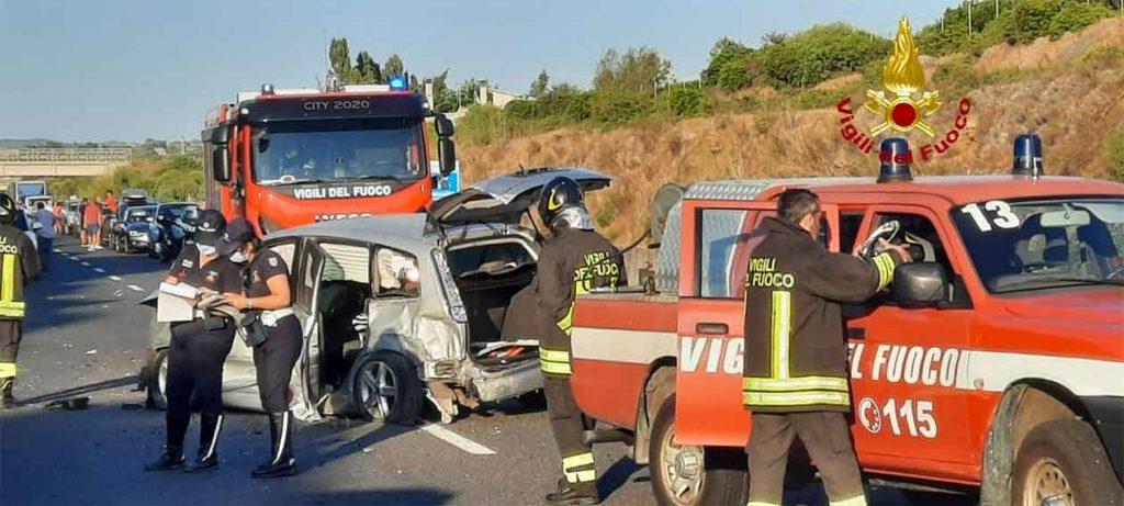 Incidente sulla statale 291 Alghero-Sassari