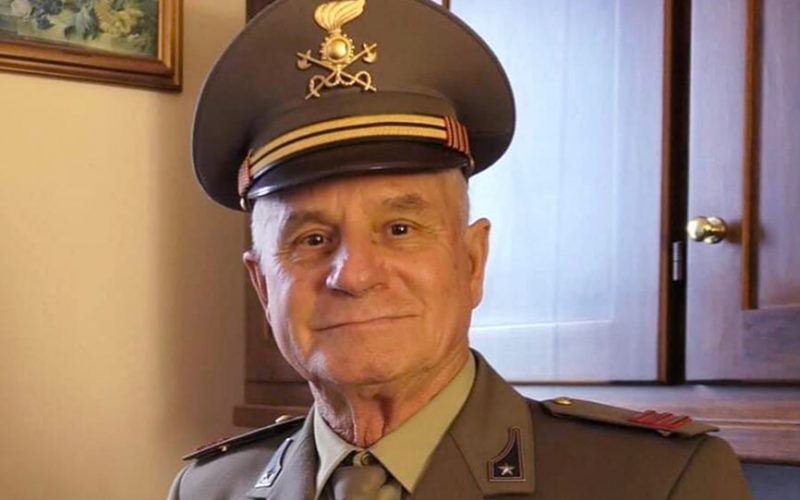 Paolo Fonsatti, l'ex militare