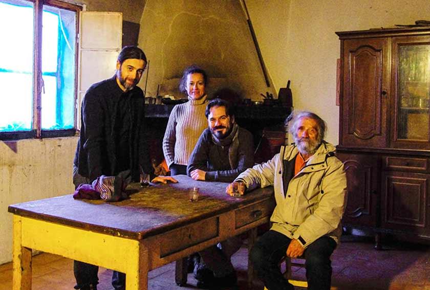 The man of trees troupe e cast film a Ploaghe