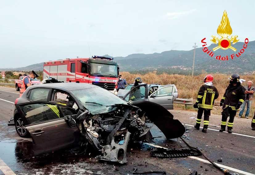 Incidente bivio per Bolotana
