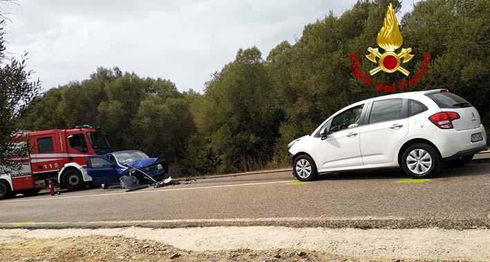 Incidente stradale a Stintino